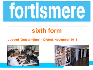 `Leadership and Management of the sixth form