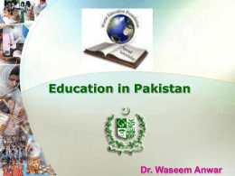 EDUCATION-IN-PAKISTAN
