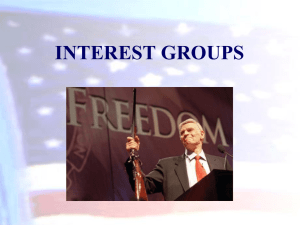Click here for the Interest Groups PowerPoint
