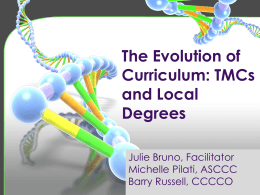TMCs and Local Degrees