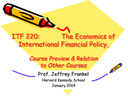 ITF 220 - Harvard Kennedy School