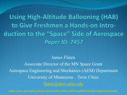 Slides for Atlanta ASEE conference - AEM