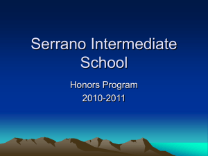 Serrano Intermediate School