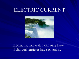 Current Electricity 1