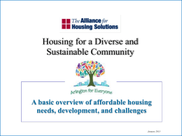 AH101-20131 - The Alliance For Housing Solutions