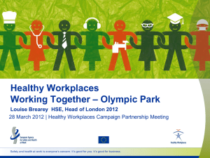 Brearey - European Agency for Safety and Health at Work