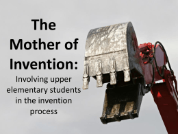 Mother of Invention PPT