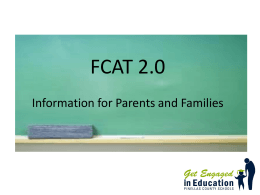 FCAT 2.0 - Polk County School District