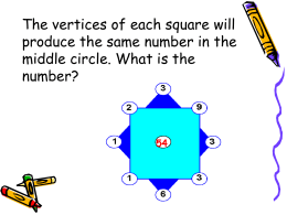 What is NUMBER SENSE ? - University Interscholastic League