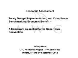 Economic assessment - Oxford Law Faculty