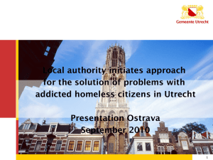 Situation in Utrecht end nineties