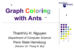 An Ant System Algorithm for Bandwidth Coloring Graph