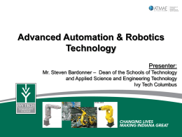 Columbus Advanced Automation & Robotics Technology Program