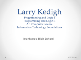 Open House ppt - brentwoodhigh.com