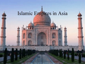 Islamic Empires in Asia