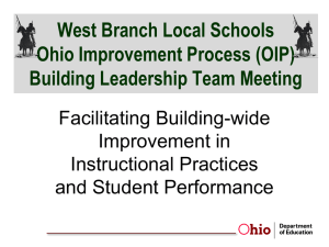 (OIP) Building Leadership Team Meeting