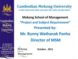 Copy of School of Management for bong Phos