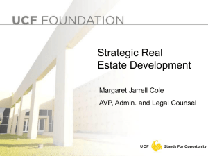 Strategic Real Estate Development