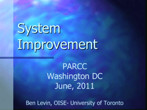 System Improvement with Ben Levin