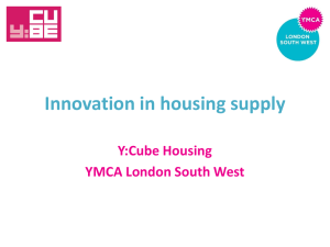 Innovation in housing supply