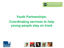 Youth Partnerships - Department of Education and Early Childhood