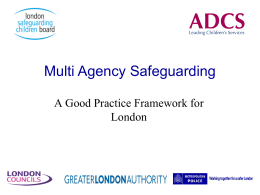 2. Implementing Multi-Agency Safeguarding Hubs In London