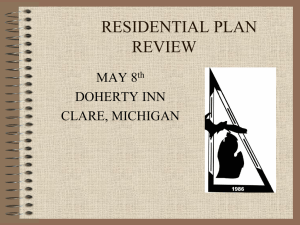 Residential Plan Review (Riley) - Mechanical Inspectors of Michigan