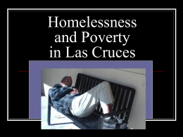 Homelessness and Poverty in Dona Ana County