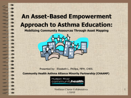 An Asset-Based Approach to Asthma Education