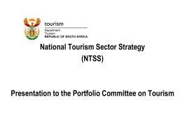 File - Tourism Business Council of South Africa