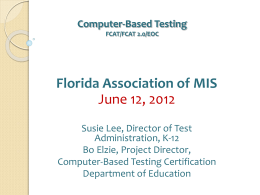 Computer-Based-Testing - Florida Association of Management