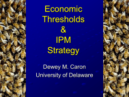 IPM Mite Control Thresholds