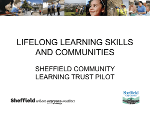 Lifelong Learning Skills and Communities