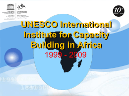 PowerPoint Template - UNESCO