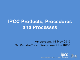 - InterAcademy Council | Review of the IPCC