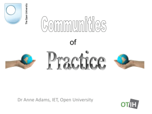 Adams, A. (2012) - The Open University
