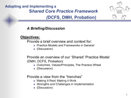 Shared Practice Framework - Los Angeles County Department of