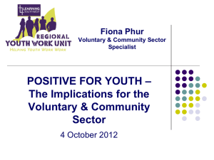 Positive for Youth - Voice & Influence