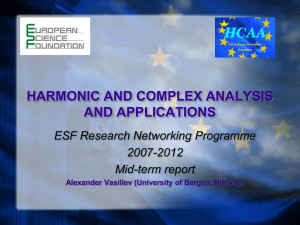new trends in complex and harmonic analysis
