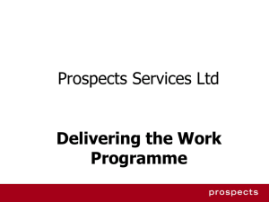 Prospects Services Ltd.