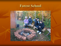 Forest School - Pinhoe Primary School