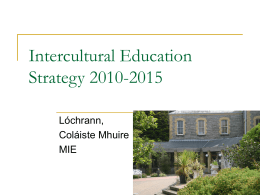 Intercultural Education Strategy 2010-2015
