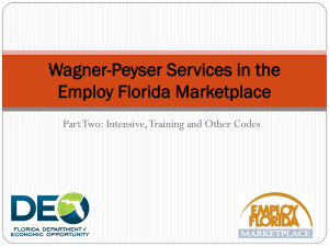Wagner-Peyser Overview