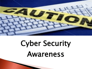 Cyber-Security Awareness PowerPoint