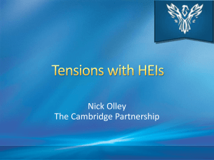 Nick Olley - Relational tensions in Partnerships