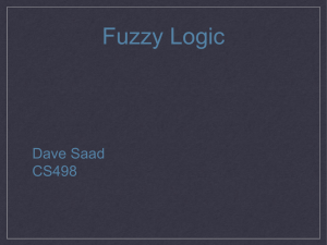 Fuzzy Logic - Computer Science