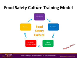 Food Safety Culture Training