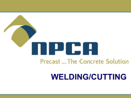 Welding and Cutting Safety Presentation