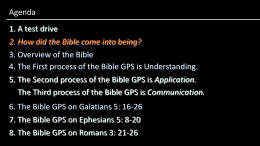 How did the Bible come into being? - Free