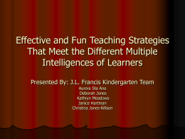 Effective and Fun Teaching Strategies That Meet the